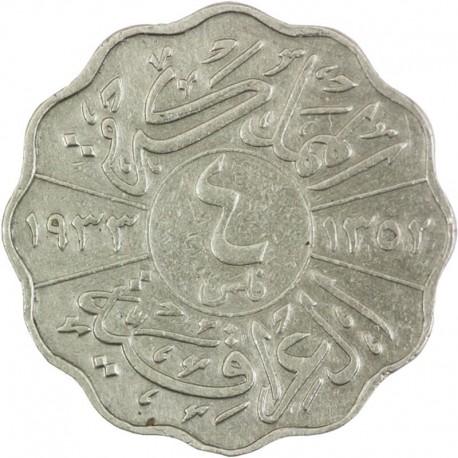 Irak 4 filsy, 1931-1933