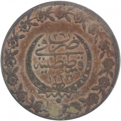 Turcja 5 kuruszy, 1223 (1808)
