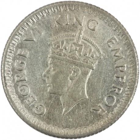 Indie - Brytyjskie ¼ rupi, 1943