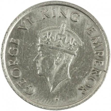 Indie - Brytyjskie ¼ rupi, 1947