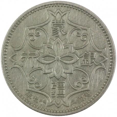 Chiny - Japońskie 5 jiao, 27 (1938)
