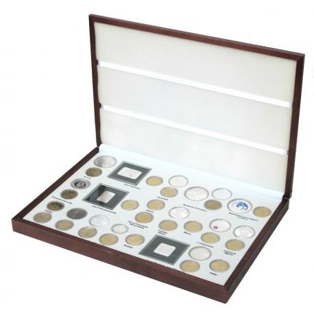 Komplet monet srebrnych i 2 zł z roku 2011 w eleganckiej kasecie