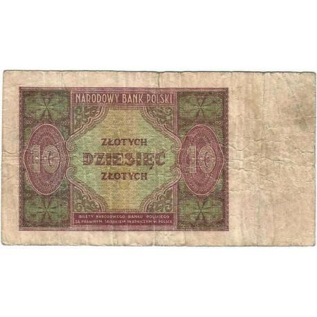 10 złotych 1946, stan 4