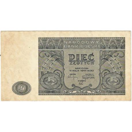5 zł, 1946, stan 3