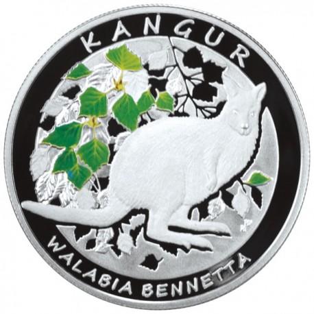 20 zł + 1$ Kangur – Walabia Bennetta/Kangur olbrzymi (zestaw)