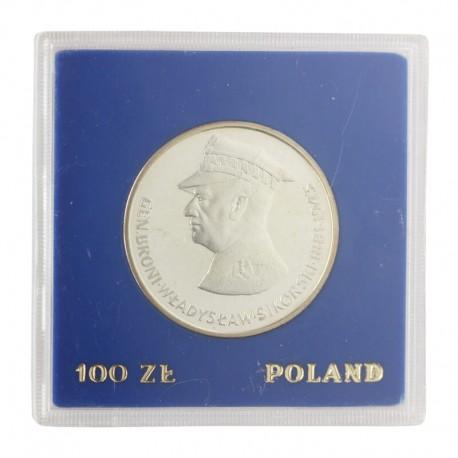 100 zł, Władysław Sikorski, 1981 r