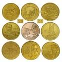 Komplet monet 2 zł z roku 2001