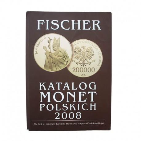 Katalog monet polskich Fischer 2008 - powystawowy