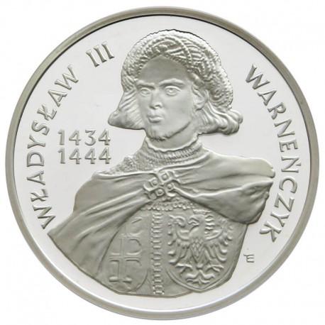200 000 zł, Władysław III Warneńczyk - półpostać