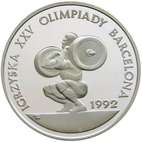 200000 złotych, 1991, Barcelona Sztangista (ciężary)