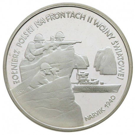 100 000 zł, Narvik 1940, Żołnierz Polski na Frontach II WŚ