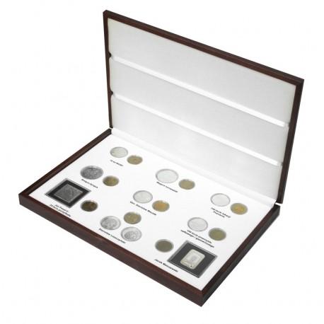 Komplet monet srebrnych i 2 zł z roku 2003 w eleganckiej kasecie