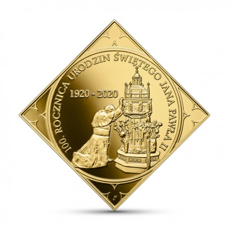 500 zł 100. rocznica urodzin Świętego Jana Pawła II