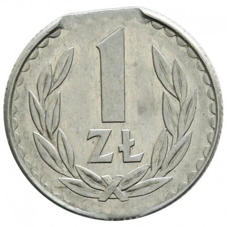 DESTRUKT 1 złoty 1986 stan 2