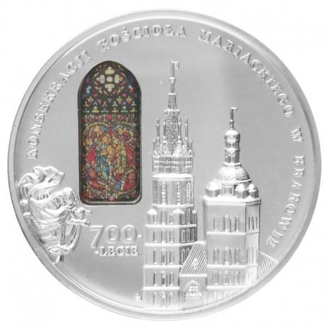 50 zł 700-lecie konsekracji kościoła Mariackiego w Krakowie, kościół Mariacki