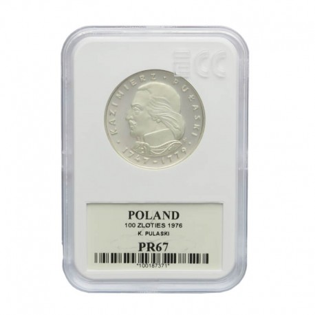 100 zł Pułaski 1976, GCN PR67