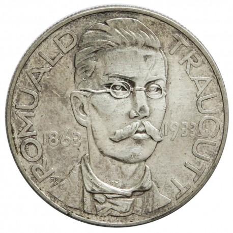 10 złotych, Romuald Traugutt, 1933, stan 3+
