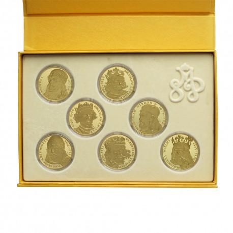 Skarbiec Mennicy - Kolekcja Królewska - Jagiellonowie - 7 medali