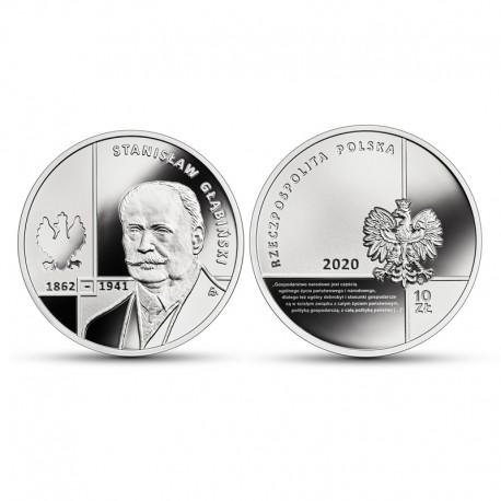 10 zł Wielcy polscy ekonomiści – Stanisław Głąbiński