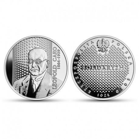10 zł Wielcy polscy ekonomiści – Leopold Caro