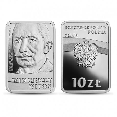 10 zł Stulecie odzyskania przez Polskę niepodległości – Wincenty Witos