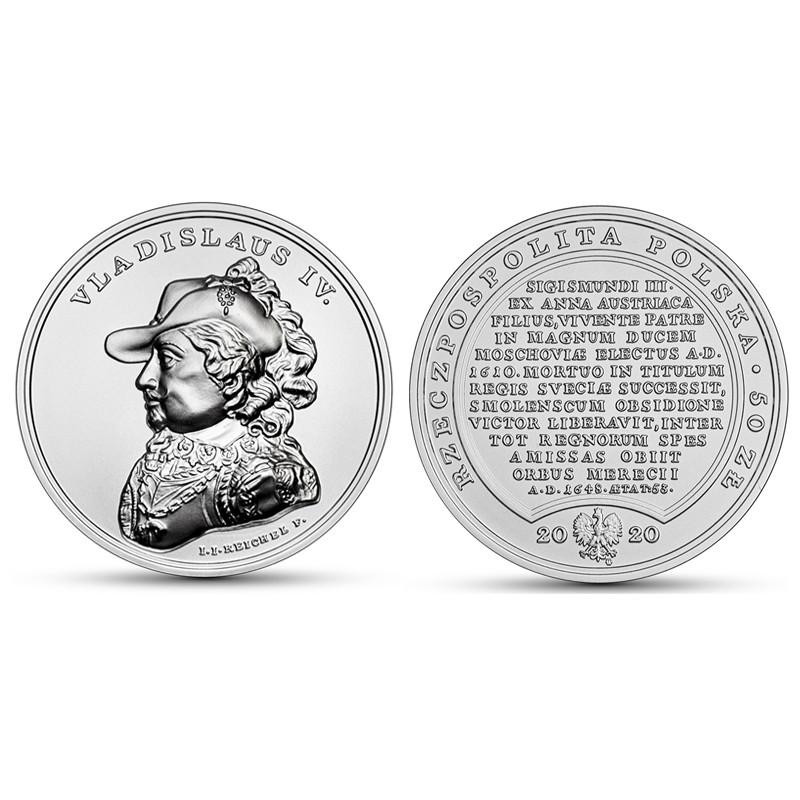 50 zł Skarby Stanisława Augusta – Władysław IV