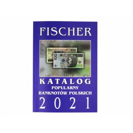 Katalog popularnych banknotów polskich Fischer 2021