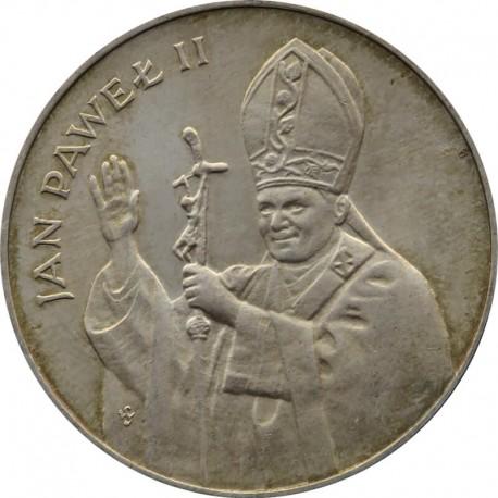 10.000 zł Jan Paweł 2, 1987, Srebro Ag
