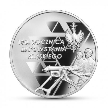 10 zł 100. rocznica III Powstania Śląskiego