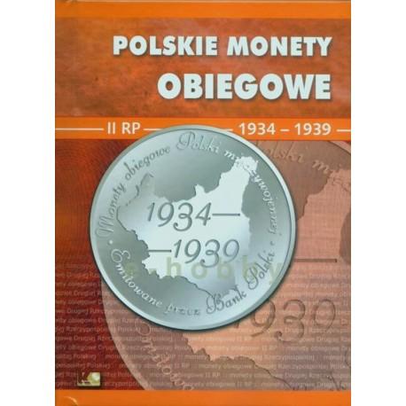 Album polskie monety obiegowe II RP, 1934-1939, tom 2