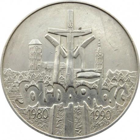 100000 zł Solidarność 1990, stan 1- ,Typ A