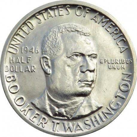USA ½ dolara, 1946, Booker Taliferro Washington