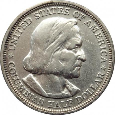 USA ½ dolara, half dollar, 1893, Światowa Wystawa Kolumbijska