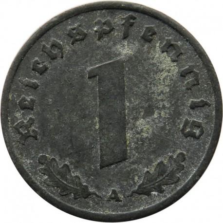 Niemcy - Trzecia Rzesza 1 reichsfenig, 1943