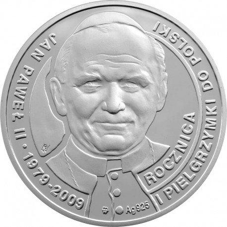 Medal z okazji 30. Rocznicy I Pielgrzymki Jana Pawła II do Polski, 2009