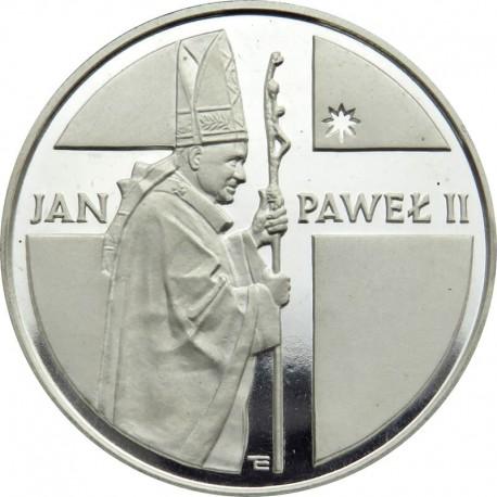 10 000zł Jan Paweł II pastorał 1989