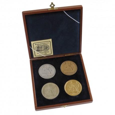 Kopie monety 5 zł 1925 Konstytucja zestaw 4 sztuk