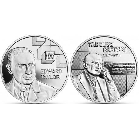 2 x 10 zł Wielcy polscy ekonomiści Taylor + Brzeski