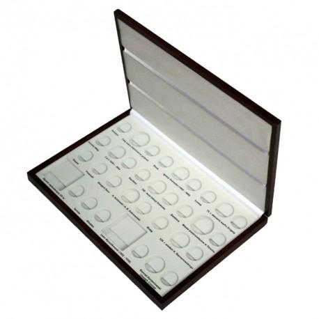Kaseta rocznik 2007 do przechowywania monet srebrnych i 2zł GN