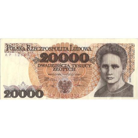 20000zł Maria Skłodowska-Curie Seria AP 1260724