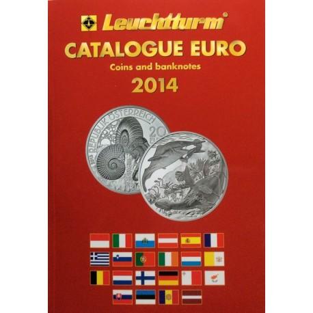 Katalog monet i banknotów euro 2014