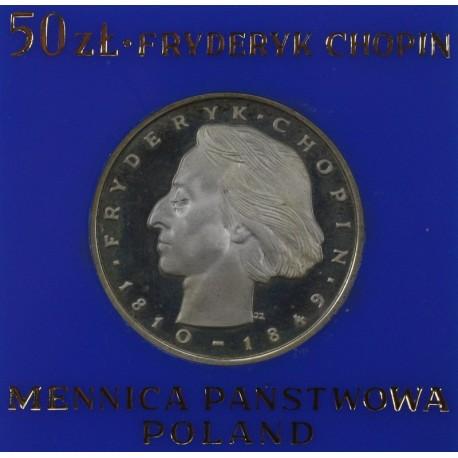 50 zł, Fryderyk Chopin, 1972 r.
