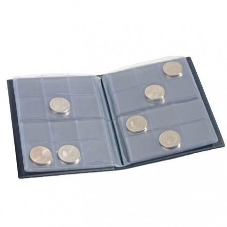 Album NUMIS do przechowywania 96 monet o średnicy do 39 mm