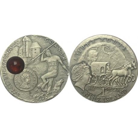 1 $, Szlak bursztynowy - Gdańsk