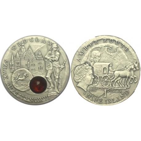 1 $, Szlak bursztynowy - Wrocław