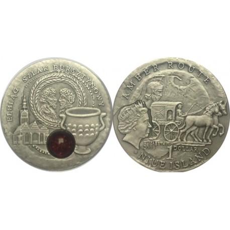 1 $, Szlak bursztynowy - Elbląg
