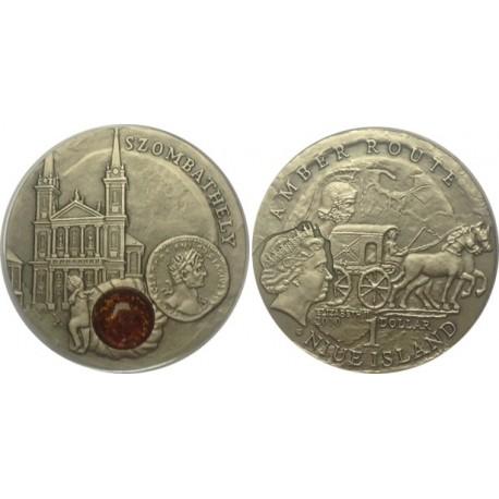 1 $, Szlak bursztynowy - Szombathely