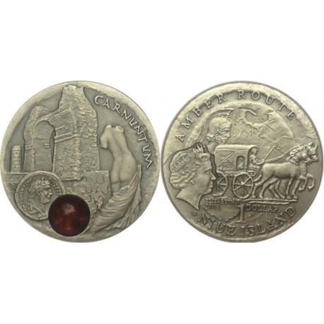 1 $, Szlak bursztynowy - Carnuntum
