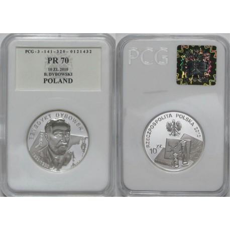 10 zł, Benedykt Dybowski - Polscy Podróżnicy i Badacze, PR70