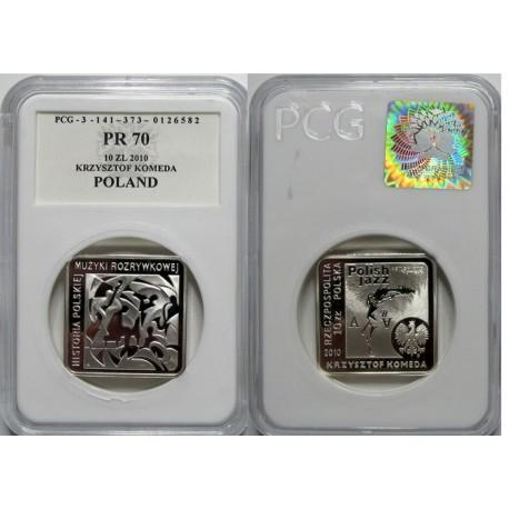 10 zł, Krzysztof Komeda kwadrat - PR70